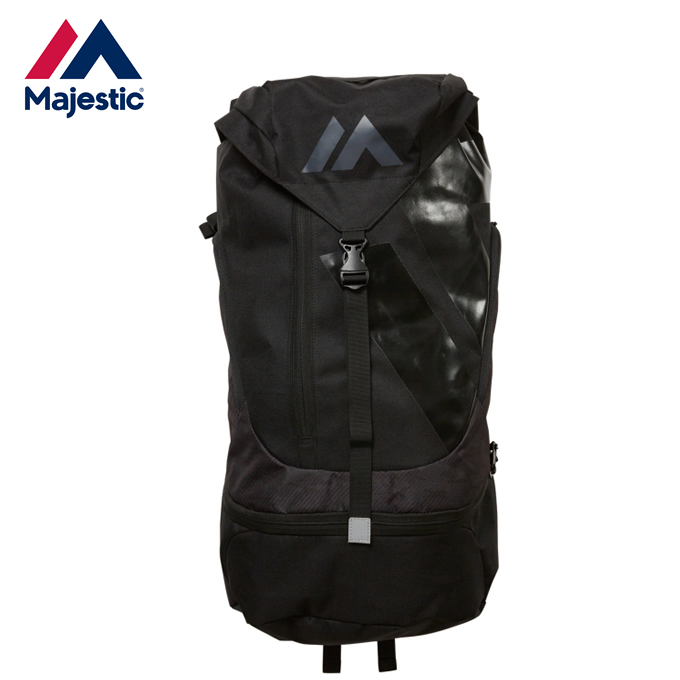 マジェスティック Majestic 野球 オーセンティック Authentic Practice Back Pack Large ブラック XM13-BLK5-MAJ-0002