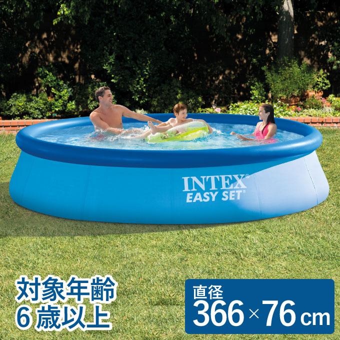 インテックス INTEX フロート イージーセットプール 28130