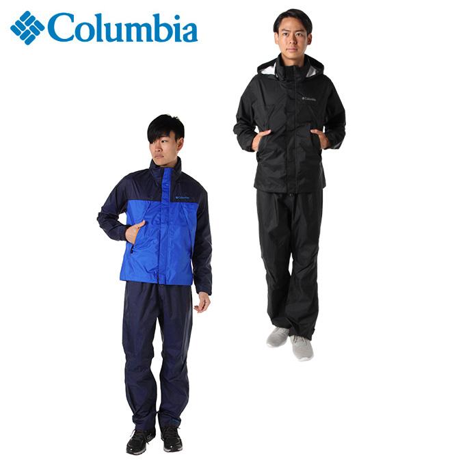コロンビア Columbia レインウェア上下セット メンズ シンプソンサンクチュアリレインスーツ PM0124