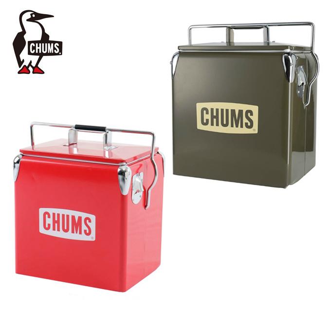 チャムス クーラーボックス 12L スチールクーラーボックス CH62-1128 CHUMS