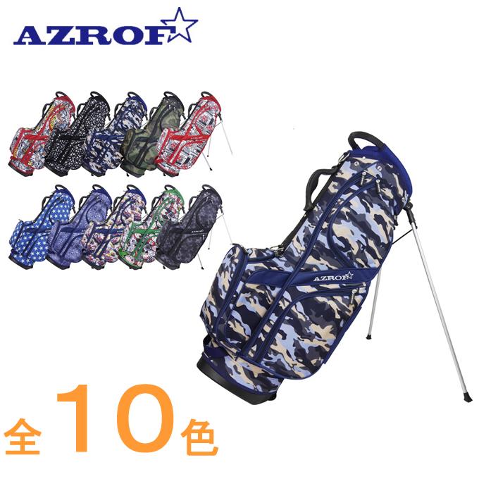 アズロフ AZROF ゴルフ バッグ スタンドキャディバッグ AZ-STCB01