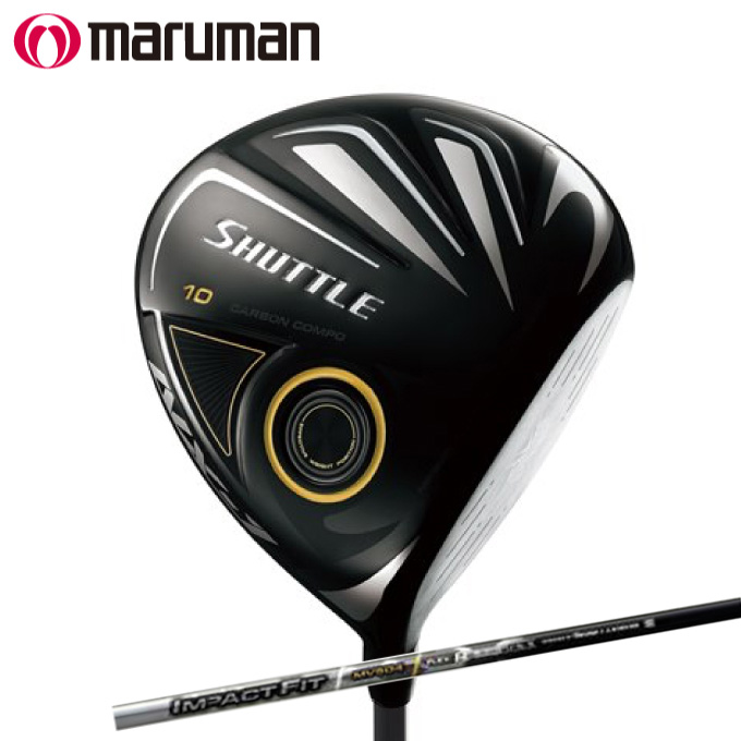 マルマン maruman ゴルフクラブ 単品 ドライバー メンズ シャトル エヌエックス ワン ドライバー SHUTTLE NX-1 DRIVER