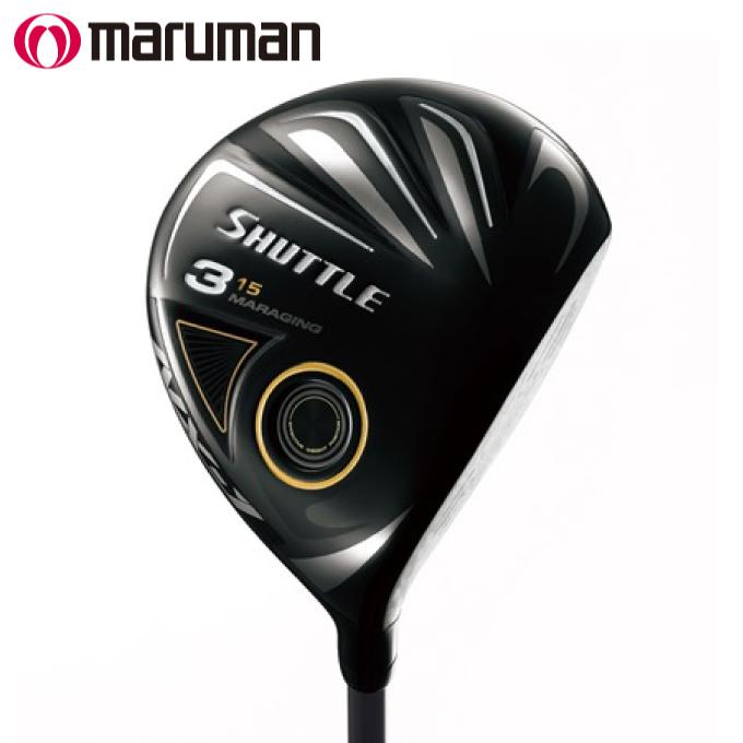 マルマン maruman ゴルフクラブ フェアウェイウッド メンズ IMPACTFIT MV504 SHUTTLE NX-1 FAIRWAYWOOD