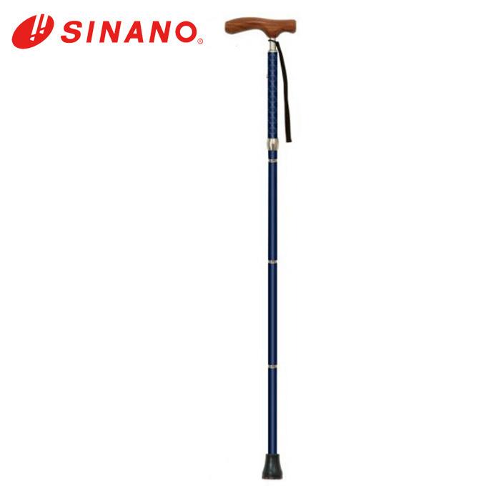 シナノ SINANO リハビリ用 ポール メンズ 折りたたみ杖・カイノスCOOL 135602