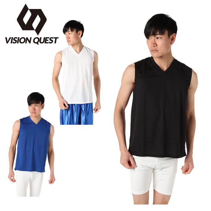 ビジョンクエスト VISION QUEST サッカーウェア インナー ノースリーブ メンズ レディース インナーシャツ ノースリーブ VQ540406G01
