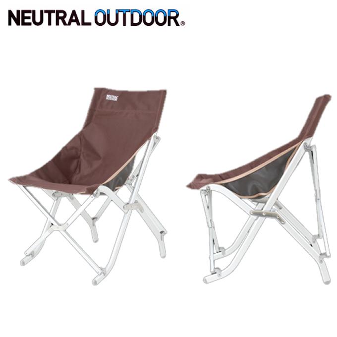 ニュートラルアウトドア NEUTRAL OUTDOOR アウトドアチェア FT Chair HIGH NT-FC02B