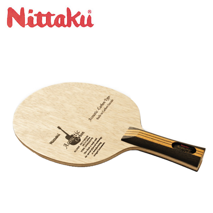 ニッタク Nittaku 卓球ラケット シェークタイプ アコースティックカーボン FL NC-0385