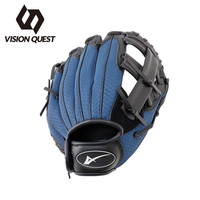 ビジョンクエスト VISION QUEST 野球 少年軟式グラブ オールラウンド用 ジュニアグラブ 革使用 VQ550103G13