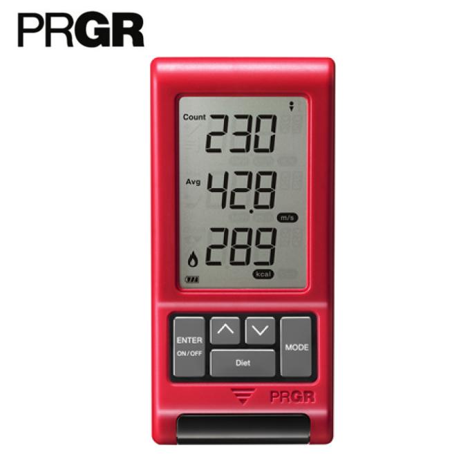 プロギア PRGR ゴルフ 測定器 レッドアイズポケット マルチスピード測定器 NEW RED EYES POCKET