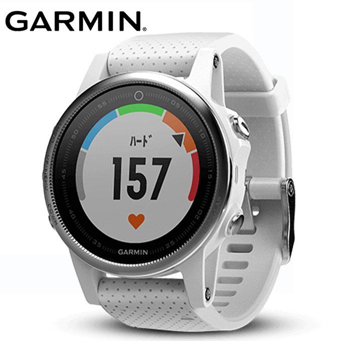 ガーミン GARMIN ランニング 腕時計 fenix 5S White 010-01685-36