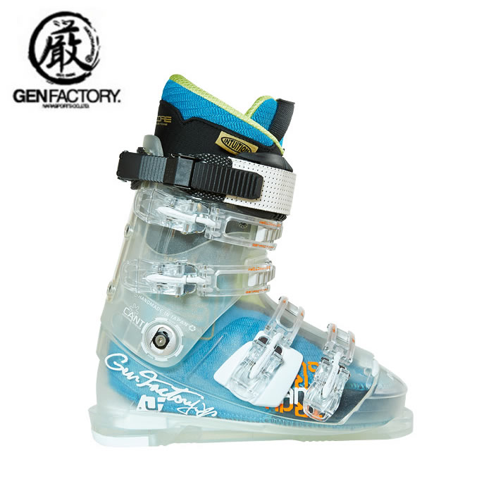 ゲン GENFACTORY スキーブーツ メンズ トランス イントゥイション プロ TRANCE INTUTION PRO