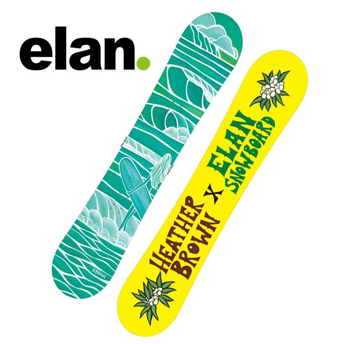 【クーポン利用で1000円引 11/18 23:59まで】 エラン ELAN スノーボード 板 レディース スプリング スウェル SPRING SWELL