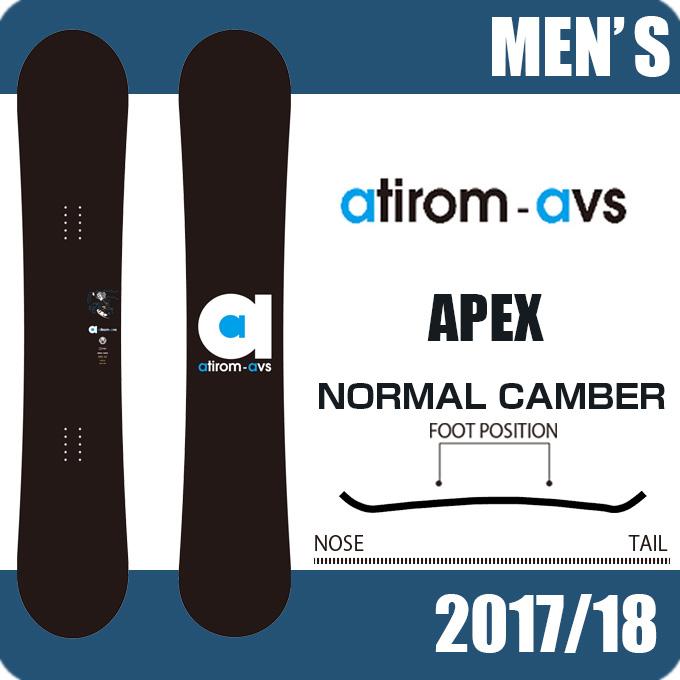 アチロム ATIROM スノーボード 板 メンズ エーペックス APEX