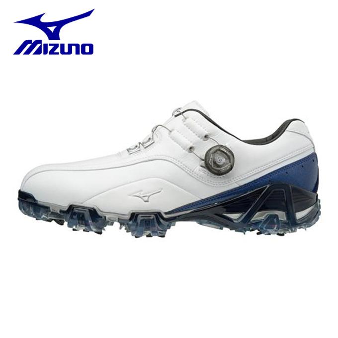ミズノ ゴルフシューズ ソフトスパイク メンズ ジェネム008ボア EEE 51GM180022 MIZUNO