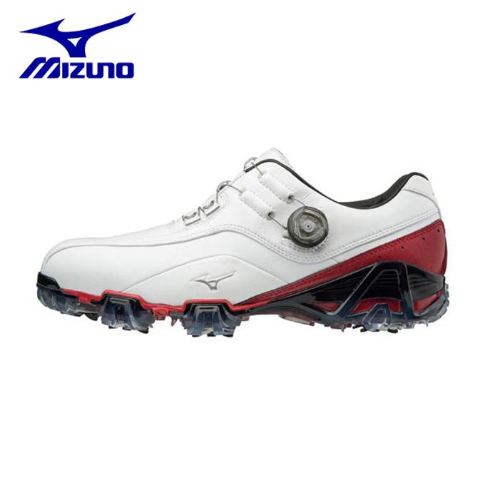 ミズノ ゴルフシューズ ソフトスパイク メンズ ジェネム008ボア EEEE 51GQ180062 MIZUNO