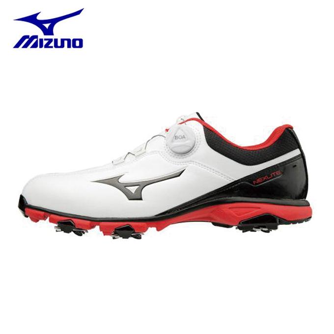 ミズノ ゴルフシューズ ソフトスパイク メンズ ネクスライト005ボア EEE ゴルフ 51GM181091 MIZUNO