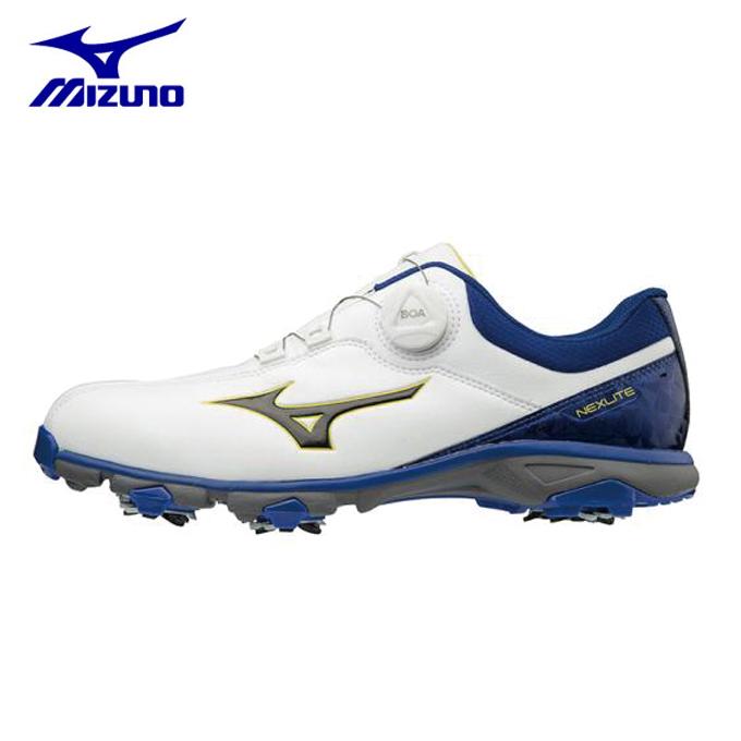 ミズノ ゴルフシューズ ソフトスパイク メンズ ネクスライト005ボア EEE ゴルフ 51GM181022 MIZUNO