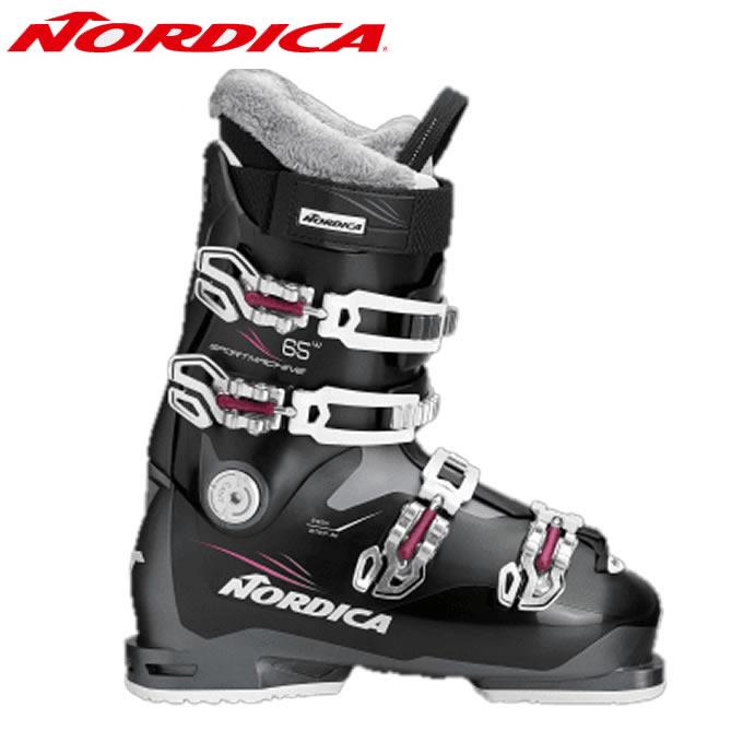 ノルディカ NORDICA スキーブーツ レディース スポーツマシン SPORTMACHINE 65W BKPU