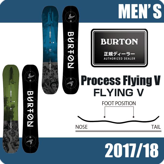 バートン BURTON スノーボード 板 メンズ PROCESS FLYING V プロセス フライング ブイ 10712104