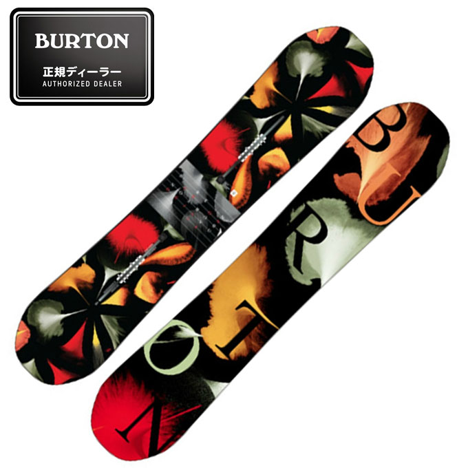バートン BURTON スノーボード 板 レディース DEJA VU FLYING V