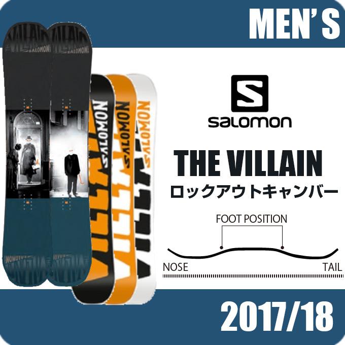 【クーポン利用で1000円引 11/18 23:59まで】 サロモン salomon スノーボード 板 メンズ レディース THE VILLAIN ザ ビレイン L39925100