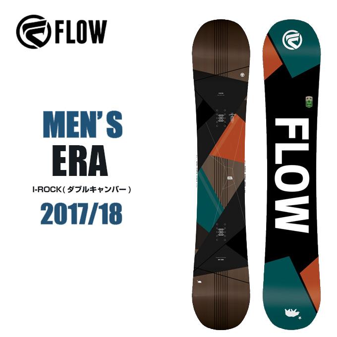【クーポン利用で1000円引 11/18 23:59まで】 フロー FLOW スノーボード板 メンズ ERA