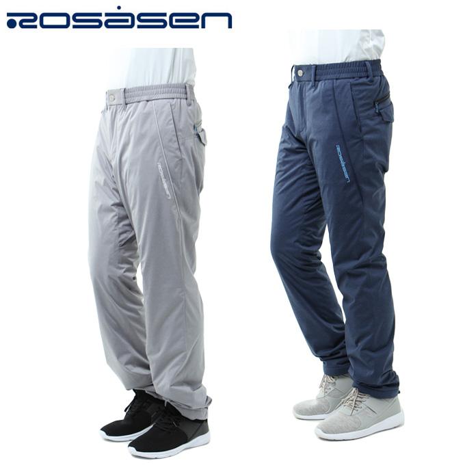 ロサーセン ROSASEN ゴルフウェア ロングパンツ メンズ ウォームフリース 044-76013