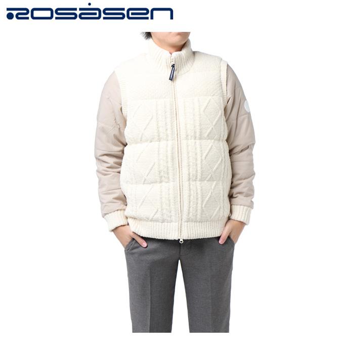ロサーセン ROSASEN ゴルフウェア メンズ ケーブルMIXブルゾン 044-56111