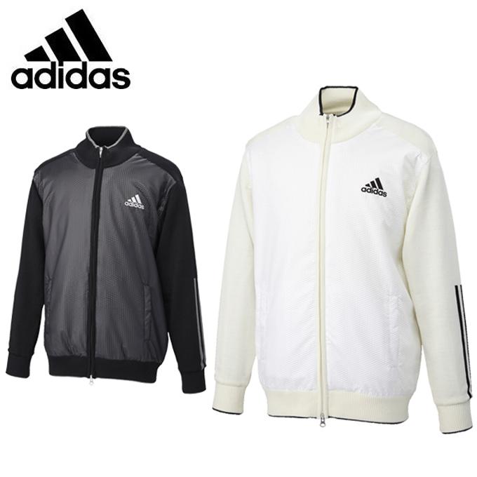アディダス ゴルフウェア セーター メンズ JP CP ロングスリーブ フルジップセーターウィズライニング CCP78 adidas