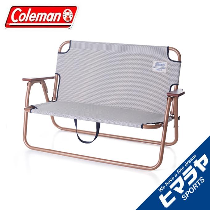 コールマン アウトドアベンチ ILリラックスフォールディングベンチ ヒッコリー 2000032520 インディゴレーベルシリーズ Coleman