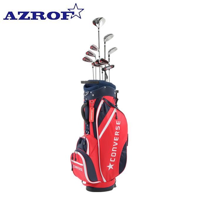 アズロフ AZROF ゴルフ セットクラブ メンズ CONVERSE×AZROF Mセット 2x6+UT+PT+CB AZC-7040 M-SET 2x6+UT+PT+CB