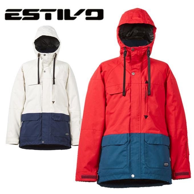 エスティボ ESTIVO スノーボードウェア ジャケット ランドマークジャケット メンズ LANDMARK JKT Men's EVM1700