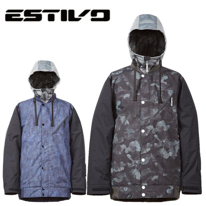 エスティボ ESTIVO スノーボードウェア ジャケット メンズ SNB JK EVM1712