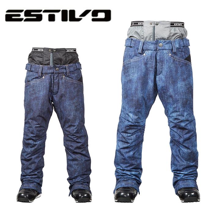 エスティボ ESTIVO スノーボードウェア パンツ メンズ SNB PT EVM3701