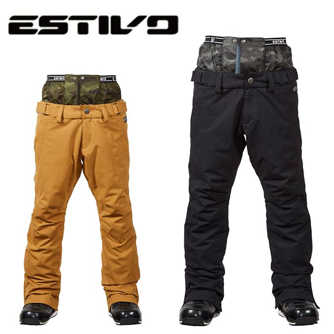 新品?正規品  エスティボ ESTIVO スノーボードウェア パンツ フリーダムパンツ メンズ ESTIVO FREEDOM PNT Men's メンズ PNT EVM3702, 家電ランド ポパイネット:4b48c5a6 --- rekishiwales.club