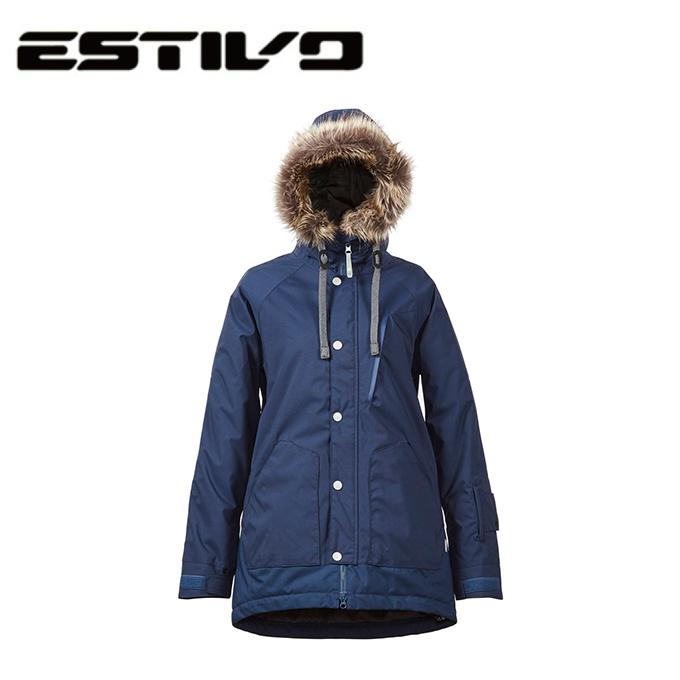 エスティボ ESTIVO スノーボードウェア ジャケット フォレストジャケット レディース FOREST JKT Women's EVW1722