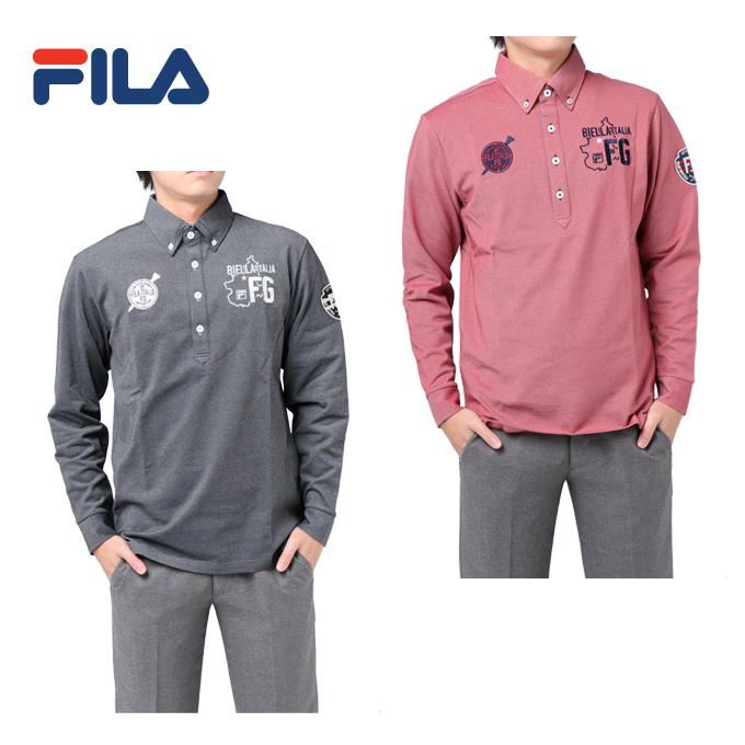 フィラ FILA ゴルフウェア ポロシャツ メンズ 長袖シャツ 787-504