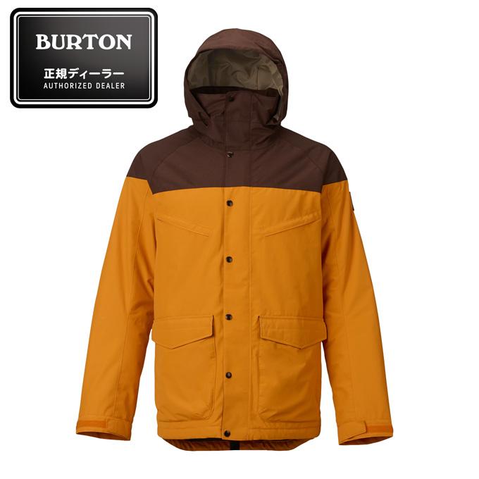 【店頭受取でポイント5倍 8/10 0:00~8/16 23:59】 バートン BURTON スノーボードウェア Men's Breach Jacket メンズ ブリーチ ジャケット 101801