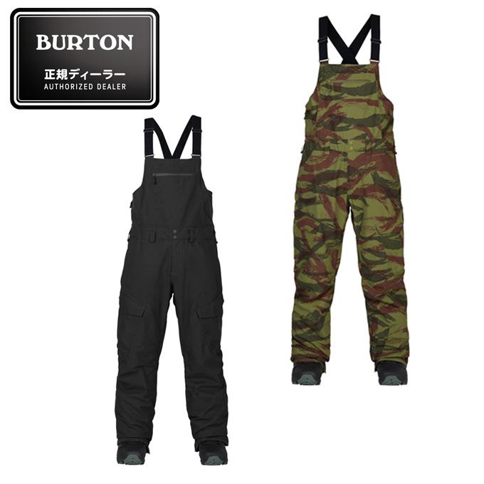 バートン BURTON スノーボードウェア Men's Reserve Bib Pant メンズ リザーブ ビブ パンツ 150031