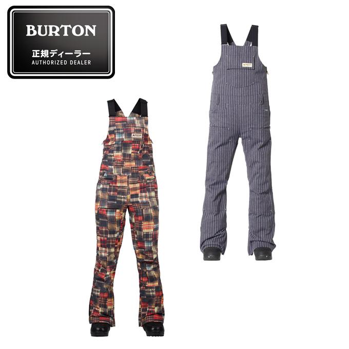 バートン BURTON スノーボードウェア レディース Women's Zealous Bib Pant ウィメンズ ゼラス ビブ パンツ 151051