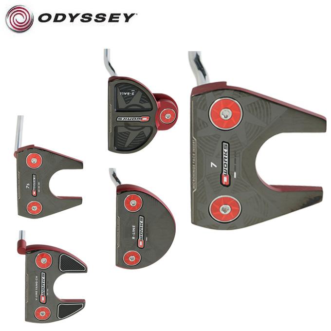 オデッセイ ODYSSEY ゴルフクラブ パター マレット型 メンズ オーワークス レッド O-WORKS RED 2017 PT