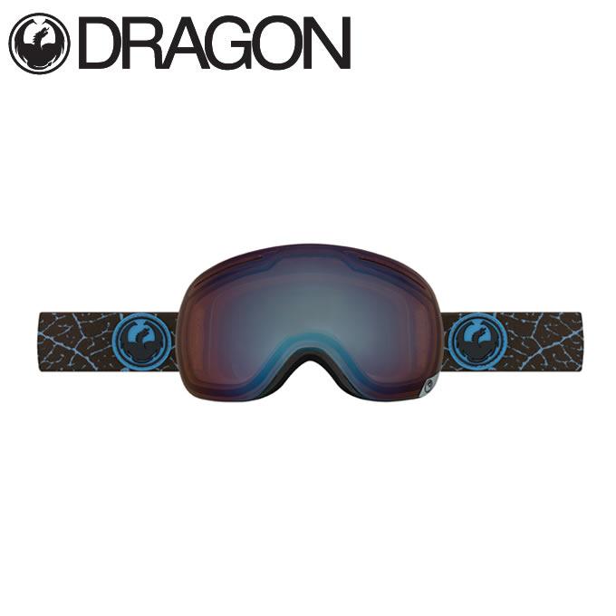 ドラゴン DRAGON スキー・スノーボードゴーグル エックスワン ペタルブルー X1 PETAL BLUE/OPT.F.BL