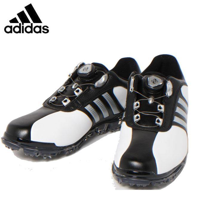 アディダス ゴルフシューズ ソフトスパイク メンズ PURE METAL BOA PLUS ピュアメタル ボア プラス Q44896 adidas