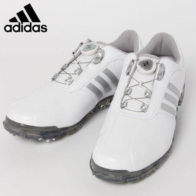 アディダス ゴルフシューズ ソフトスパイク メンズ PURE METAL BOA PLUS ピュアメタル ボア プラス Q44897 adidas
