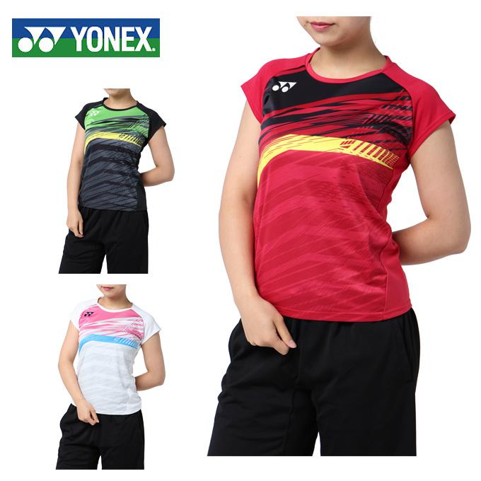 ヨネックス テニスウェア ゲームシャツ レディース フィットシャツ 20390 YONEX バドミントンウェア