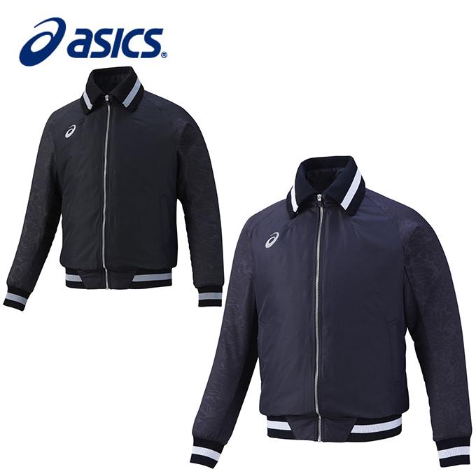 アシックス asics 野球 ウィンドブレーカージャケット メンズ グランドコート BAF071