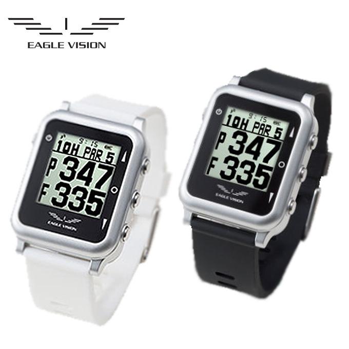 【5/5はクーポンで1000円引&エントリーかつカード利用で14倍】 イーグルビジョン EAGLE VISION watch4 ウォッチ4 EV-717 GPS ゴルフナビ 腕時計型 ゴルフ 計測器