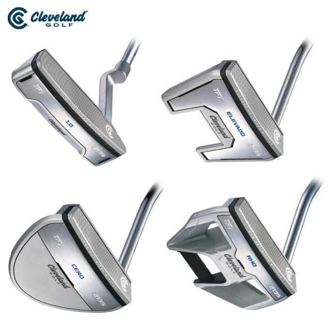 クリーブランド Clevelan) ゴルフクラブ メンズ パター TFi 2135 SATIN 1.0 RHO CERO ELEVAD