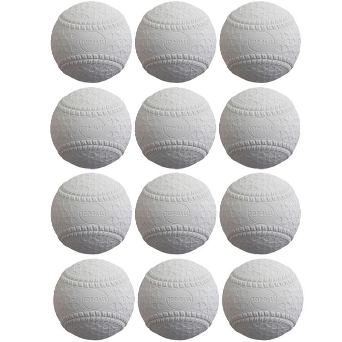 トップボール TOP BALL 野球 軟式ボール M号 1ダース 12個入り トップボールM号 1ダース TOPMHD12