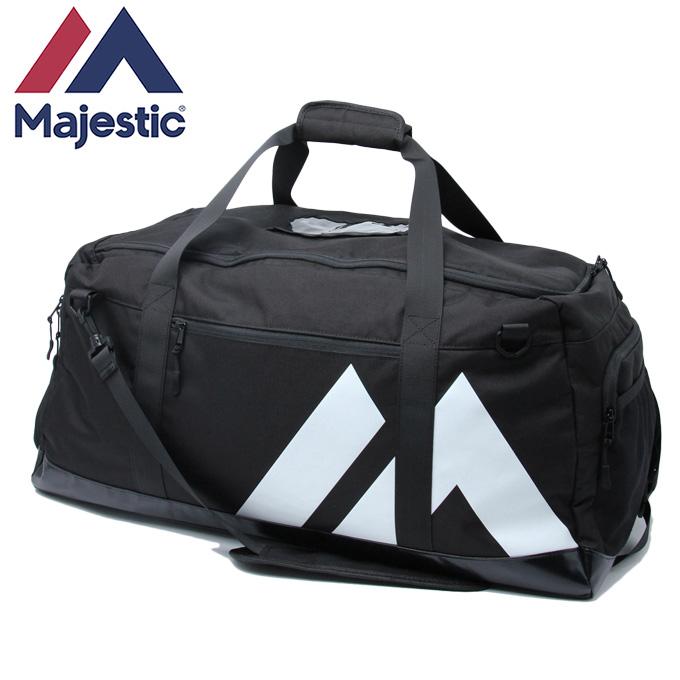 【クーポン利用で1,000円引 7/29 0:00~8/1 23:59】 マジェスティック Majestic 野球 バックパック 2017AW Boston Bag ブラック XM13-BLK5-MAJ-0006